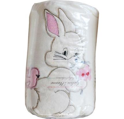 Детский плед Gelin Home Зайчик (розовый) 85x100