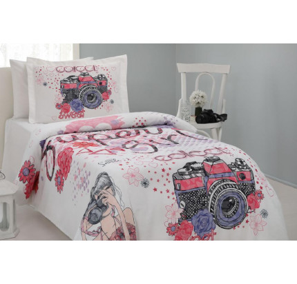 Постельное белье Gelin Home Foto 1.5-спальное
