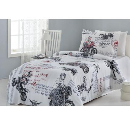 Постельное белье Gelin Home Motor 1.5-спальное