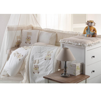 Детский набор в кроватку Gelin BEBE (бежевый)