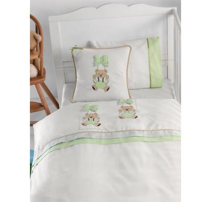 Детский набор в кроватку Gelin BEBE (зеленый)