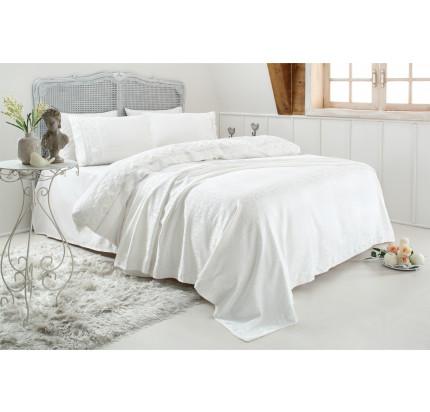 Свадебный набор Gelin Home Esma (белый) евро