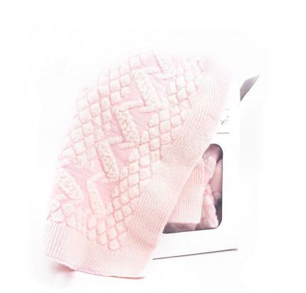 Детский плед Gelin Home Yumos (розовый) 85x100