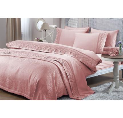 Свадебный набор Lilya (розовый) евро