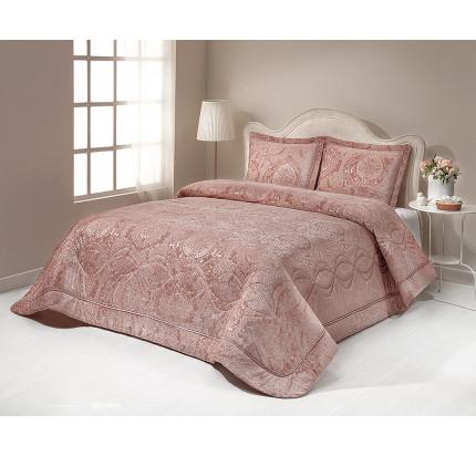 Покрывало Gelin Home Damlacik (грязно-розовое) 260x270