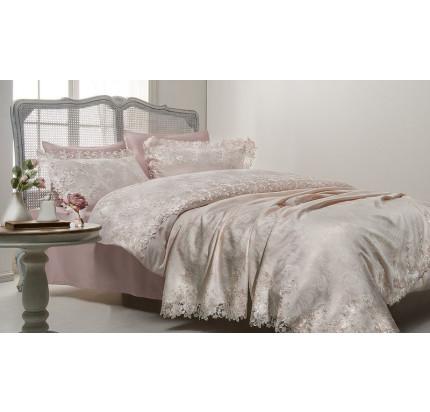 Свадебный набор Gelin Home Hayal (розовый) евро