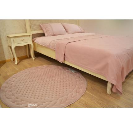 Коврик для ног Gelin Home Erguvan розовый 120 см. (круглый)