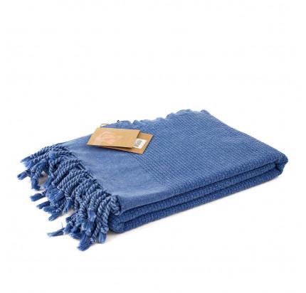 Полотенце Buldan's Golge (синее) 90x170