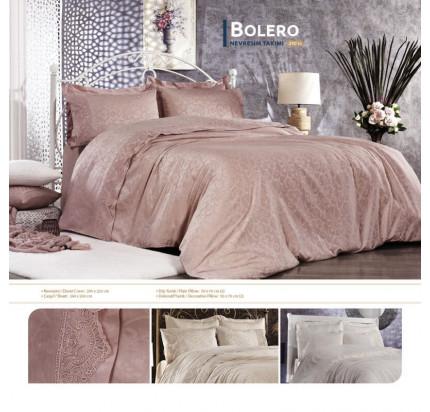 Постельное белье Grazie Home Bolero (пудра) евро