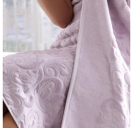 Набор полотенец Tivolyo Baroc (лиловый) 3 предмета