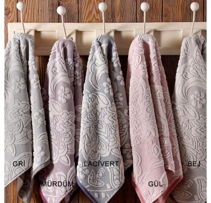 Набор полотенец Tivolyo Flavia (грязно-розовый) 2 предмета