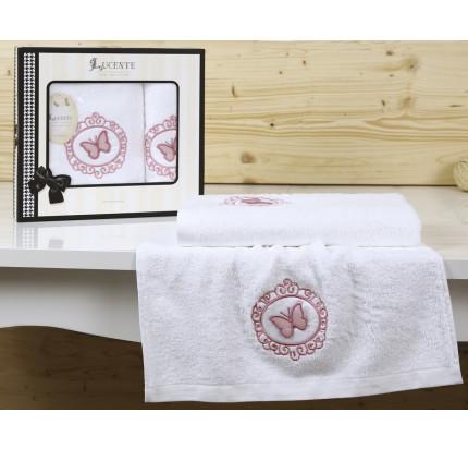 Набор полотенец Lucente Infisso (белый, 2 предмета)