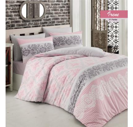 Постельное белье Arya Irena (розовое)
