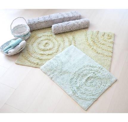 Набор ковриков Irya Capri gri серый (60x90+40x60)