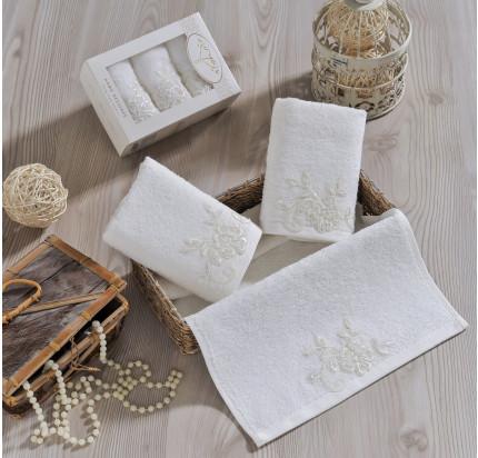 Набор салфеток Irya Sweet (молочный) 30x50 (3 шт.)