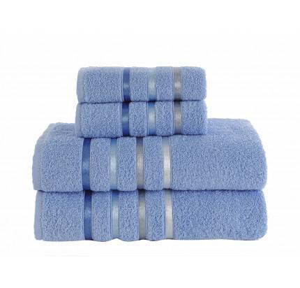 Набор полотенец Karna Bale (голубой, 4 предмета)