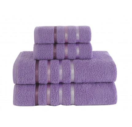 Набор полотенец Karna Bale (сиреневый, 4 предмета)