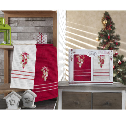 Набор салфеток Karna Christmas V1 (2 предмета) 40x60