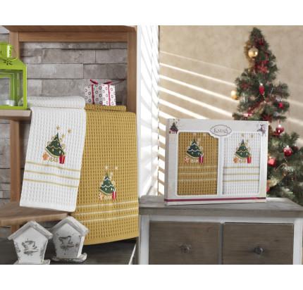 Набор салфеток Karna Christmas V10 (2 предмета) 40x60