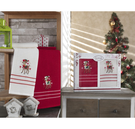 Набор салфеток Karna Christmas V2 (2 предмета) 40x60