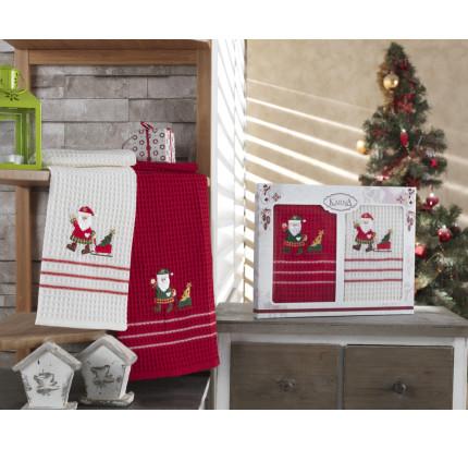 Набор салфеток Karna Christmas V3 (2 предмета) 40x60