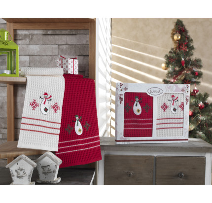 Набор салфеток Karna Christmas V4 (2 предмета) 40x60