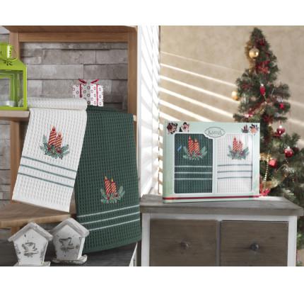 Набор салфеток Karna Christmas V5 (2 предмета) 40x60