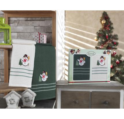 Набор салфеток Karna Christmas V6 (2 предмета) 40x60