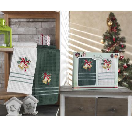 Набор салфеток Karna Christmas V7 (2 предмета) 40x60
