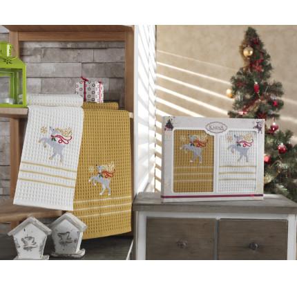 Набор салфеток Karna Christmas V9 (2 предмета) 40x60