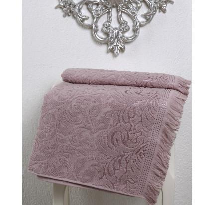 Полотенце Karna Esra (грязно-розовое)