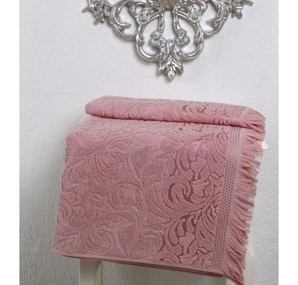 Полотенце Karna Esra (розовое)