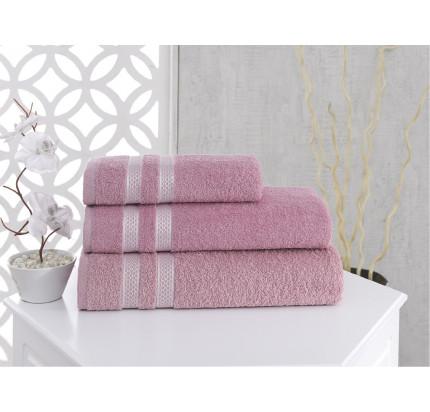 Полотенце Karna Petek (грязно-розовое)