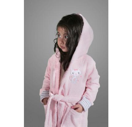 Халатик детский Karna Teeny (розовый)