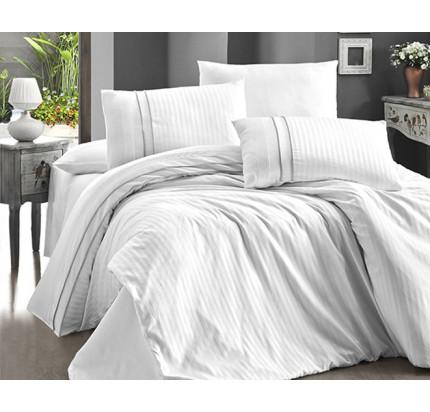 Постельное белье Karven Stripe Style Beyaz евро