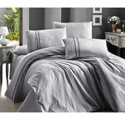Постельное белье Karven Stripe Style Gri евро