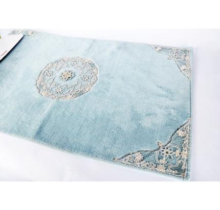 Набор ковриков Karven Quen бирюзовый (50x60+60x100)