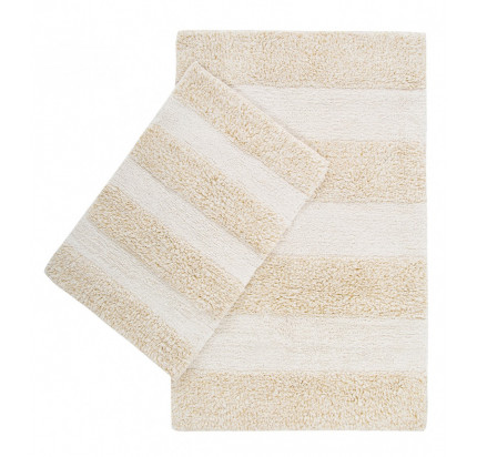 Набор ковриков Irya Kate gold (40x60+60x90)