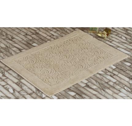 Полотенце-коврик для ног Karna Esra (бежевый) 50x70