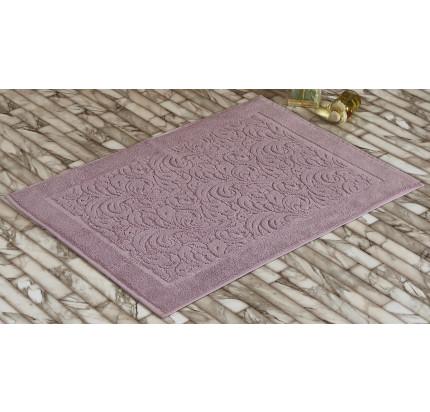 Полотенце-коврик для ног Karna Esra (грязно-розовый) 50x70