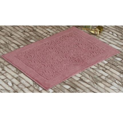 Полотенце-коврик для ног Karna Esra (розовый) 50x70