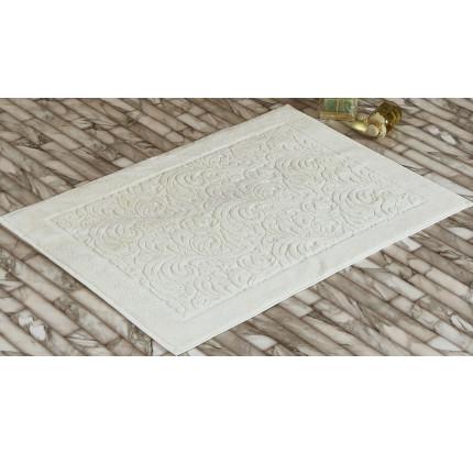 Полотенце-коврик для ног Karna Esra (кремовый) 50x70