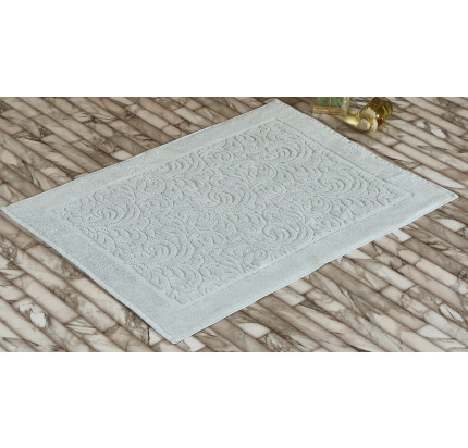Полотенце-коврик для ног Karna Esra (светло-зеленый) 50x70