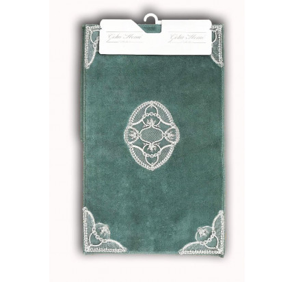 Набор ковриков Gelin Home Hanzade (2 предмета) ментоловый