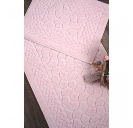 Набор ковриков Karven Hasankeyf пудра (50x60+60x100)