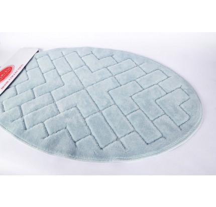 Набор ковриков Karven Oval Parke бирюзовый (50x60+60x100)