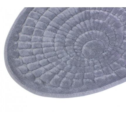 Набор ковриков Karven Oval Girdap серый (50x60+60x100)