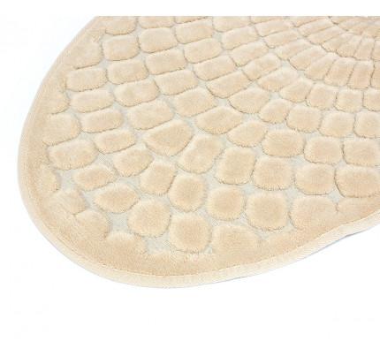 Набор ковриков Karven Oval Girdap слоновая кость (50x60+60x100)