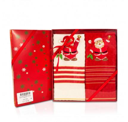 Новогодний набор La Villa De Paris Дед Мороз (2 предмета, 45x70 см.)