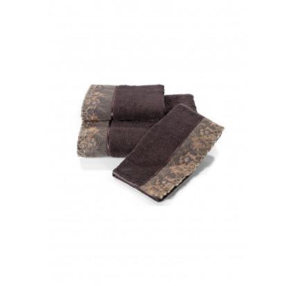 Салфетки Soft Cotton Lalezar (фиолетовый, 3 предмета) 32x50